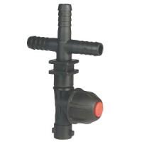 Arag-T-kus držiaka trysky pre montáž na hadicu, jednoduchý, bajonetový uzáver