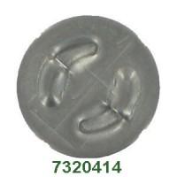 Braglia príslušenstvo k mosadzným držiakom  trysiek s  D15 mm kotúčom