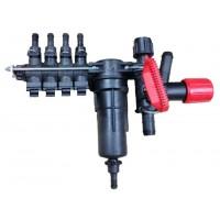 Rozdelovač sekcií 4x s tlakovým filtrom