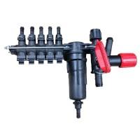 Rozdelovač sekcií 5x  s tlakovým filtrom