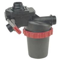 Arag, nasávací filter 100 - 160 l s 3 cestným prepínacím ventilom