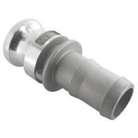 Camlock, hliníkové rýchlospojky, samec / hadicové pripojenie