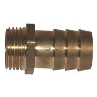 Mosadzné hadicové násadce, vonkajší závit, rozmery 32 - 63 mm