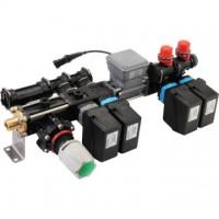 Arag, elektrické regulačné armatúry 150 l, séria 863 (2 a 4 sekcie)