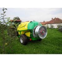 Kertitox Bora 3000 l, typy ventilátorov 32D, 32DT, 32FL, 36DT, 36FL, 42D